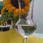 Der Nussgeist im Glas.