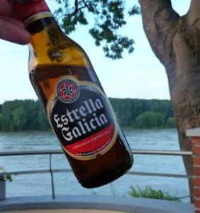 Leckeres Bier aus Spanien.